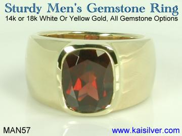 mens rings, custom mens rings in gold and sterling silver