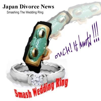 Japan Wedding Rings Divorce Could Mean Smashing The Wedding Ring