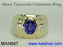 tananite gold or silver rings for men