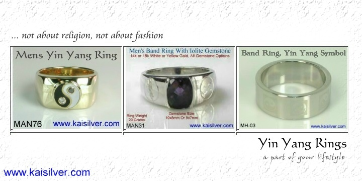 yin yang rings, what is the meaning of a yin yang ring